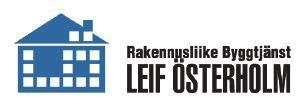 Rakennusliike Byggtjänst Leif Österholm