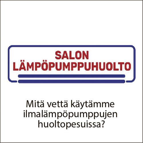 Tähtipuhdistus_Salon Lämpöpumppuhuolto