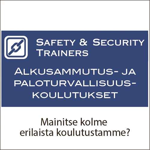 Safety & Security Trainers Oy